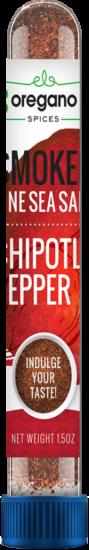 Smoked Fine Sea Salt Chipotle Pepper