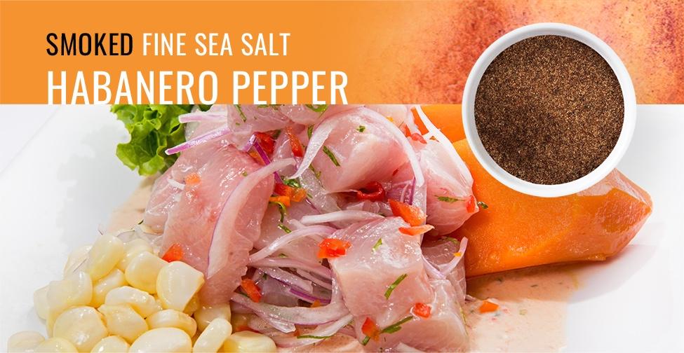 Smoked Sea Salt Habanero Pepper