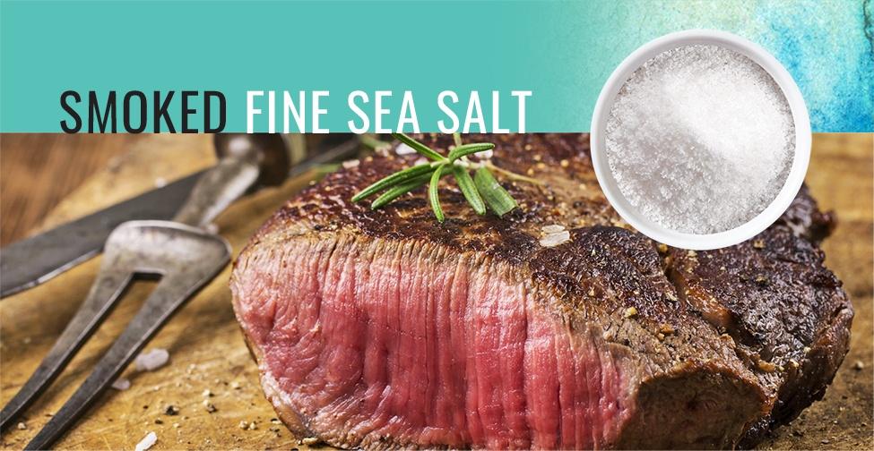 Smoked Fine Sea Salt